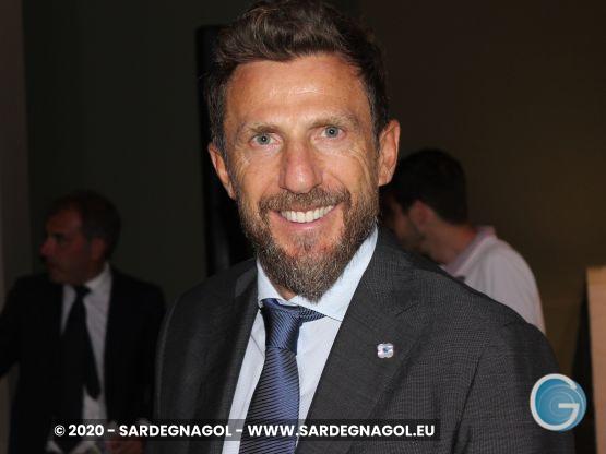 Eusebio Di Francesco, Foto Sardegnagol, riproduzione riservata, 2020 Gabriele Frongia