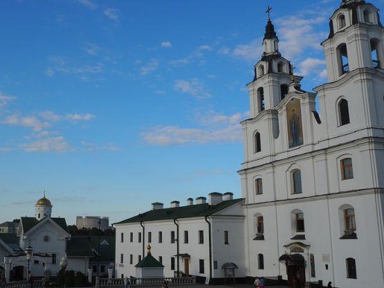 Minsk, chiesa ortodossa, foto Jackal007 foto Pixabay