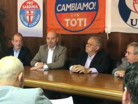 Andrea Biancareddu, Antonello Peru, Giorgio Oppi, Giandomenico Gallus, foto Sardegnagol