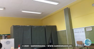 Sezione elettorale Cagliari, foto Sardegnagol riproduzione riservata, 2020