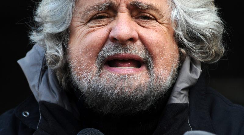Il findatore del movimento 5 Stelle Beppe Grillo