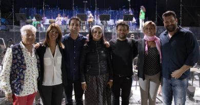 Giovanni Andreoli, Antonella Colaianni, Valerio Galli, Alessandra Volpe, Amadi Lagha, Lara Rotili, Devid Cecconi foto Priamo Tolu