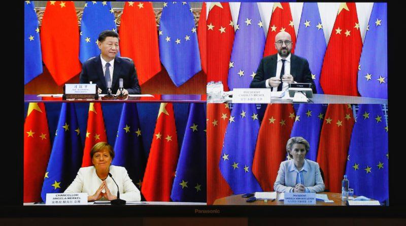 videoconferenza Cina-UE, copyright European Union