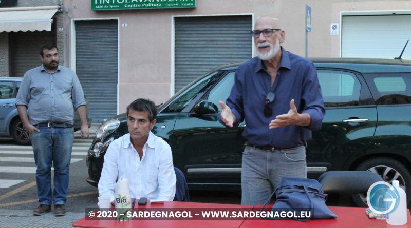 Matteo Massa, Massimiliano Zedda, Luciano Uras, foto Sardegnagol, riproduzione riservata, 2020 Gabriele Frongia