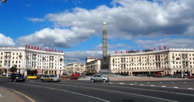 Piazza della Vittoria, Minsk, Foto di Zdeněk Fekar da Pixabay