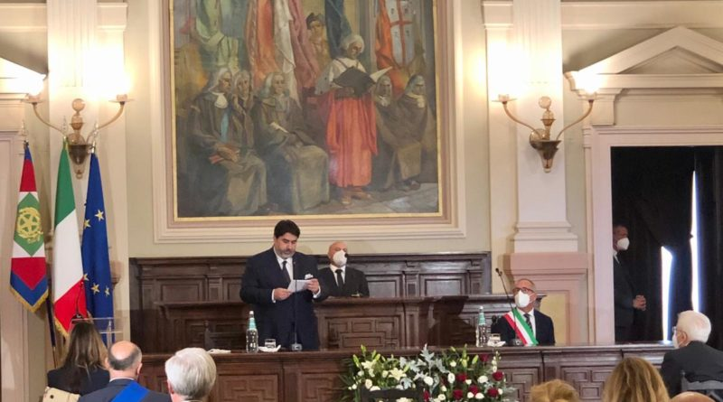 presidente Solinas celebrazione
