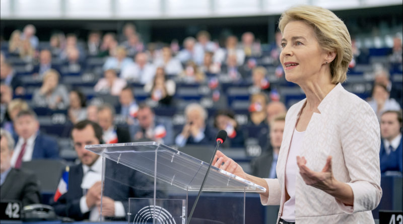 Ursula von der Leyen, European Parliament from EU - Ursula von der Leyen presents her vision to MEPs, CC BY 2.0