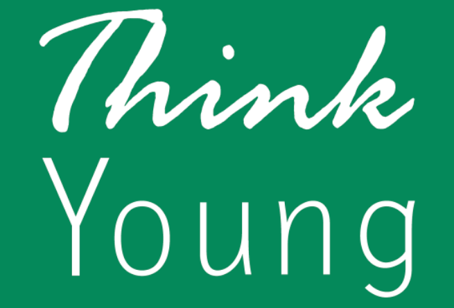 Think young, logo