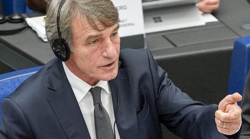David Sassoli, foto Daina Le Lardic © European Union 2020 - Source : EP