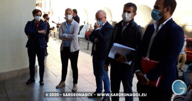 Opposizione in consiglio regionale, foto Sardegnagol, riproduzione riservata 2020