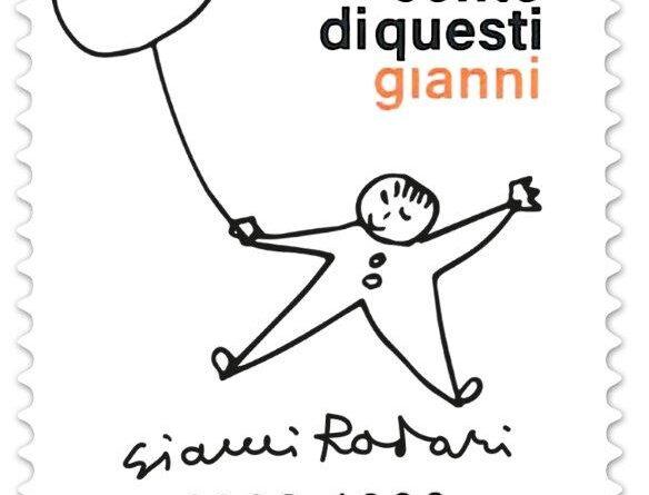 Francobollo per Gianni Rodari