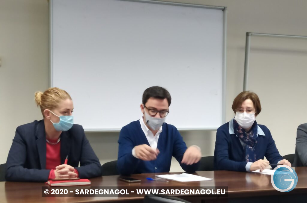 Maria Laura Orrù, Francesco Agus, Laura Caddeo, foto Sardegnagol, riproduzione riservata 2020
