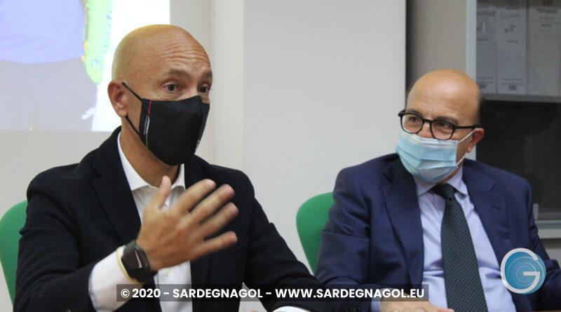 Stefano Sardara, Mario Nieddu, foto Sardegnagol, riproduzione riservata 2020
