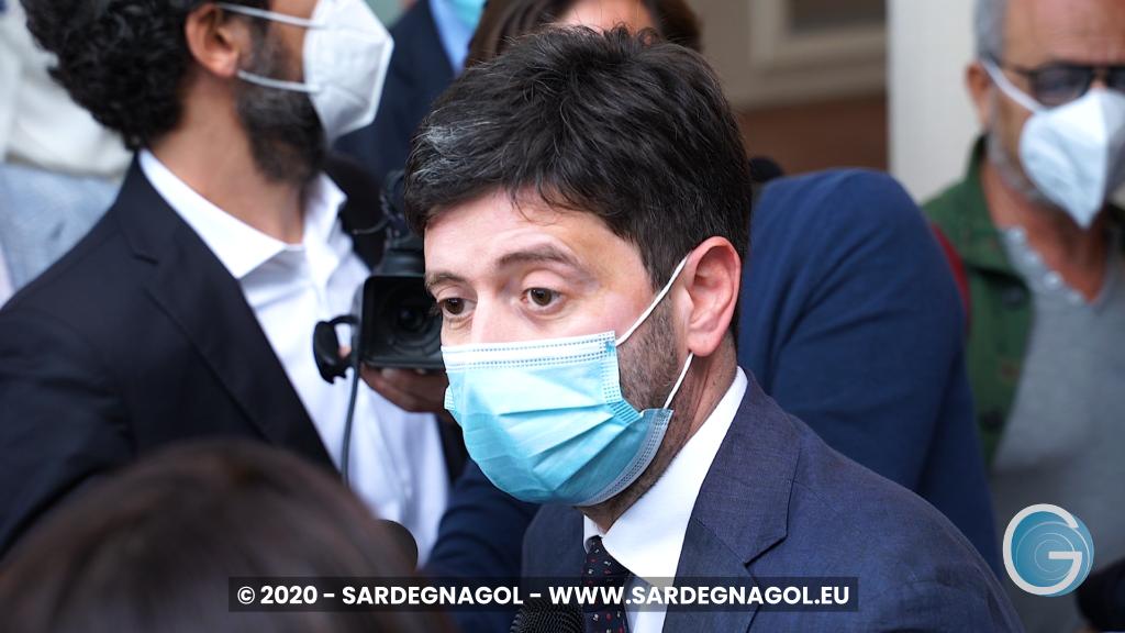 Roberto Speranza, foto Sardegnagol, riproduzione riservata 2020