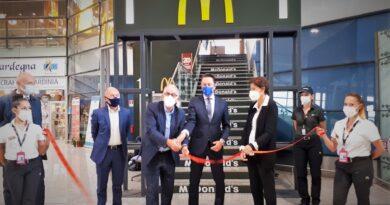 Taglio del nastro SOGAER, McDonalds