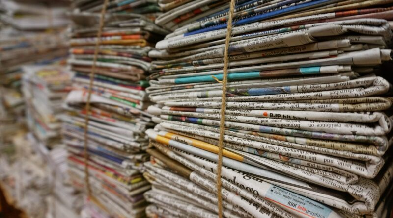 Quotidiani, Foto di Pexels da Pixabay
