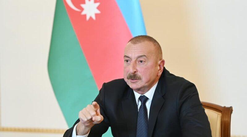 Iham Aliyev, foto ambasciata repubblica Azera