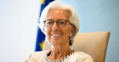 Christine Lagarde, foto Source: ECB