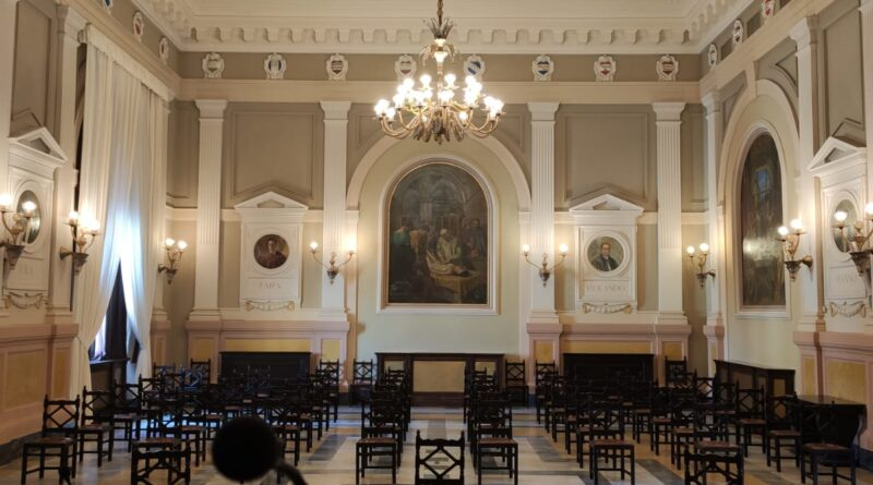 Aula magna Università Sassari