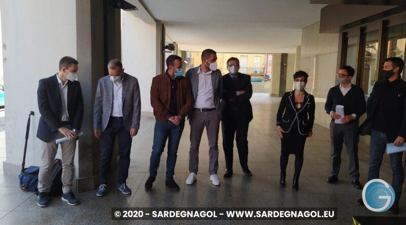 Opposizione sulla gestione sanitaria, foto Sardegnagol riproduzione riservata 2020