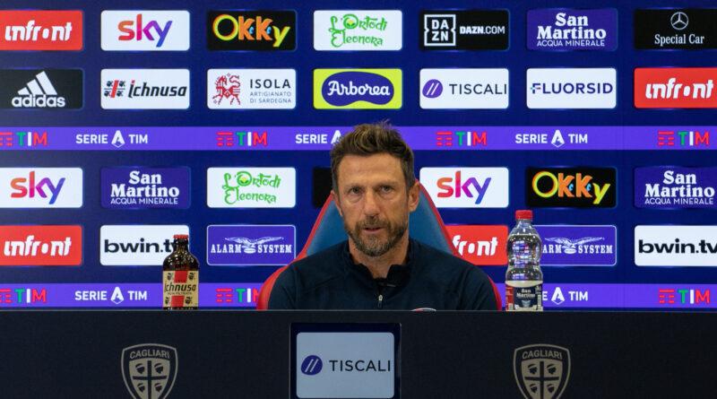 Eusebio Di Francesco, foto Cagliari Calcio