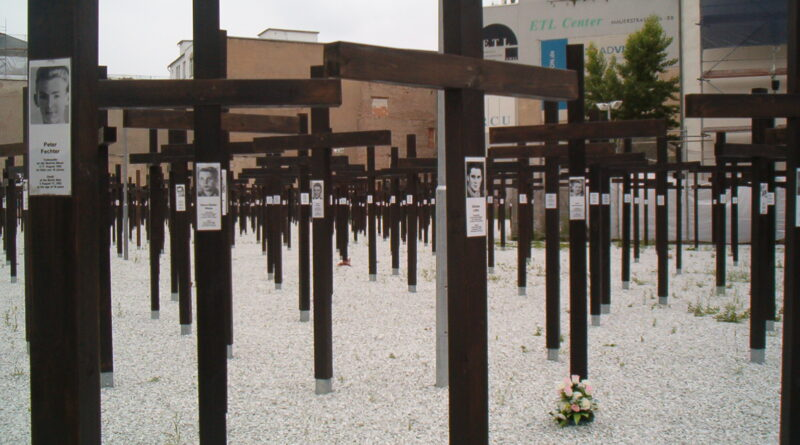 Monumento ai caduti del Muro di Berlino di Victor Grigas