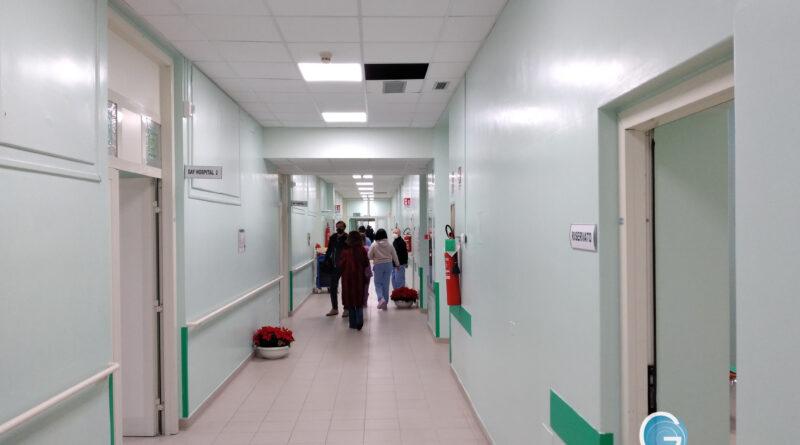 Covid hospital Binaghi, foto Sardegnagol riproduzione riservata