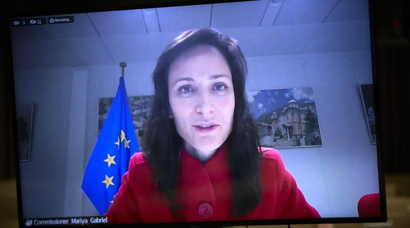 Mariya Gabriel, Copyright European Union
