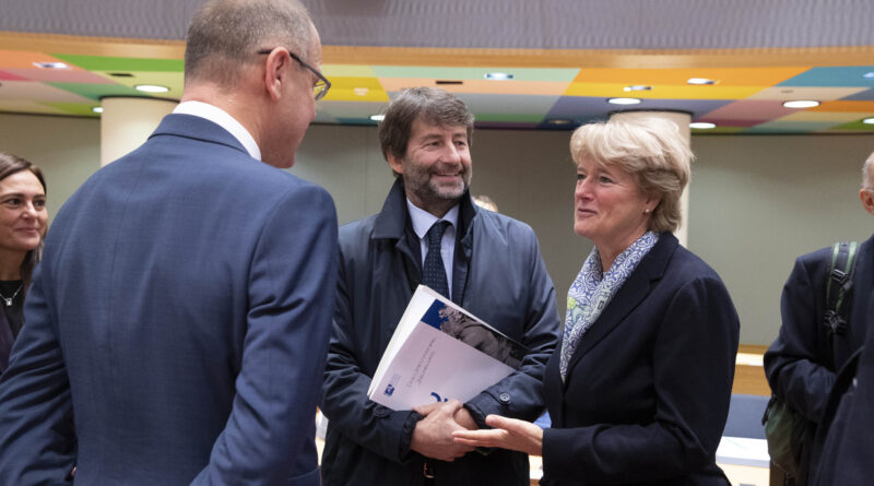 Monika Grütters, Dario Franceschini, foto Copyight European Union