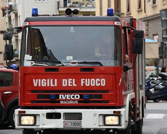Vigili del fuoco, foto Piergiuliano Chesi