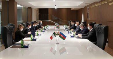 Incontro Italia-Azerbaijian