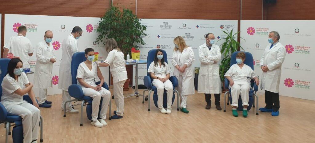 Primi vaccini covid-19 in Italia