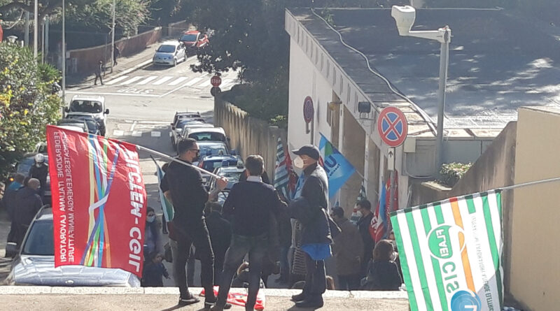 Vertenza sindacale, foto Sardegnagol riproduzione riservata
