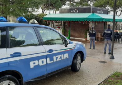 il chiosco sanzionato, polizia
