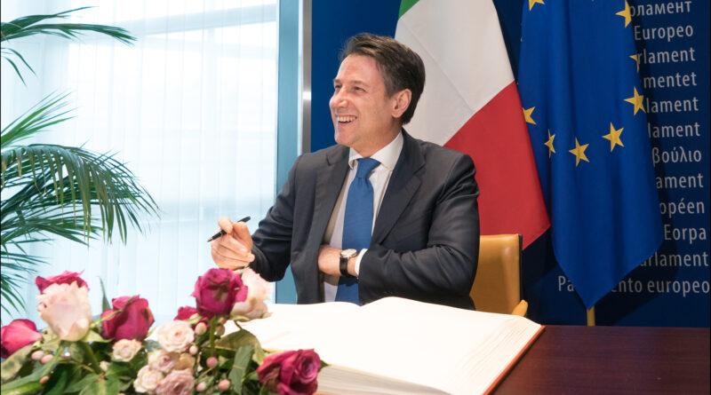 Giuseppe Conte, CC-BY-4.0: © European Union 2019 – Source: EP