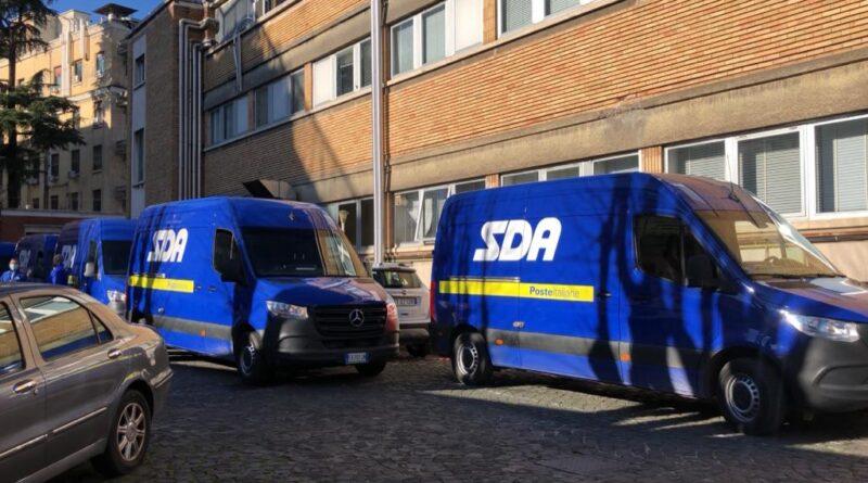 SDA, poste italiane, vaccini moderna