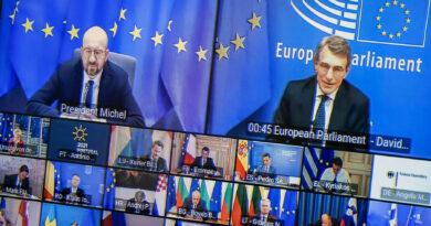 David Sassoli, vertice Consiglio europeo