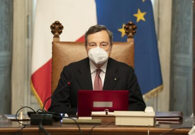 Mario Draghi, foto Governo.it licenza CC-BY-NC-SA 3.0 IT