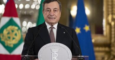 Mario Draghi, foto Francesco Ammendola