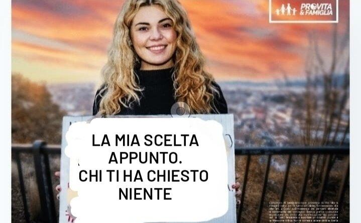 Manifesto contro l'aborto