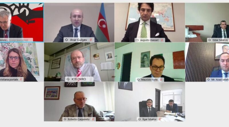 L'incontro Azerbaigian-Italia