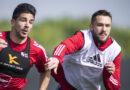 Simeone, Waluckiewicz, foto Cagliari Calcio/Valerio Spano