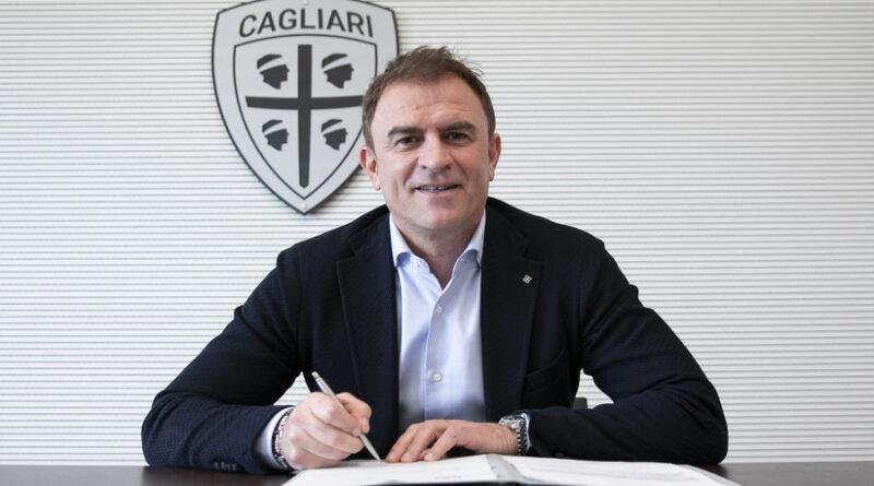 Leonardo Semplici, foto Valerio Spano, Cagliari Calcio