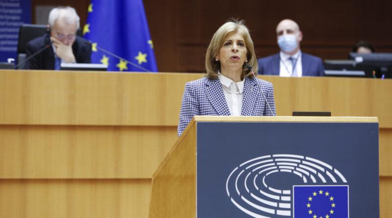 Stella Kyriakides, foto Copyright European Union, Source EP, Alexis Haulot