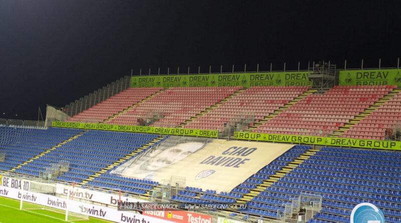 Il Cagliari ricorda la scomparsa di Davide Astori