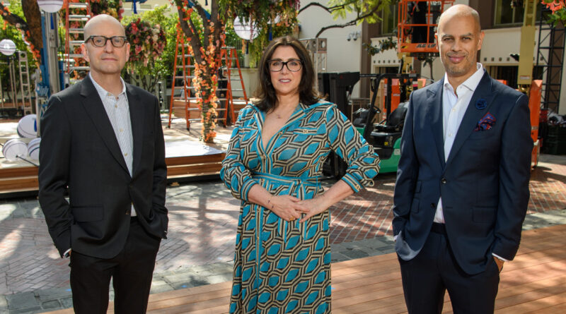 THE OSCARS® - 93rd Oscars® producers Jesse Collins, Stacey Sher and Steven Soderbergh participated in a press conference to discuss this year's unprecedented broadcast. (ABC) STEVEN SODERBERGH, STACEY SHER, JESSE COLLINS, foto ABC