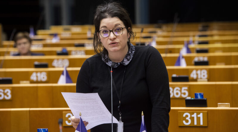 Mathilde androuet, foto European Parliament 2020, Jean Van De Vel