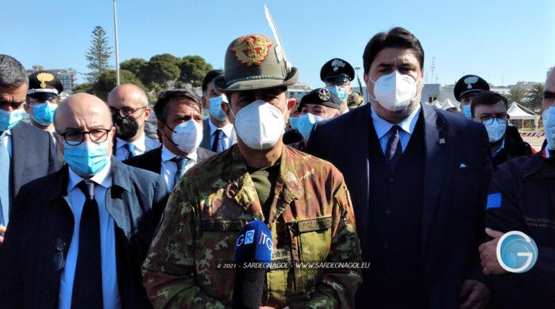 Christian Solinas, Francesco Paolo Figliuolo, foto Sardegnagol riproduzione riservata