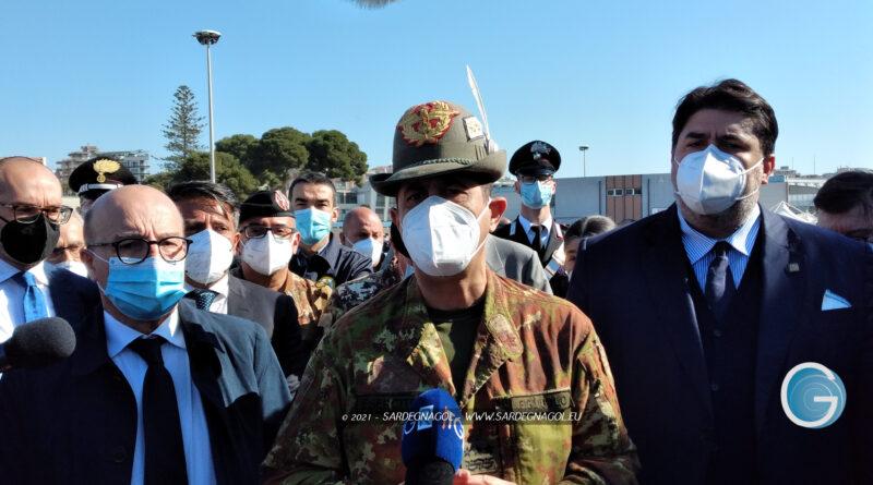 Francesco Paolo Figliuolo, foto Sardegnagol riproduzione riservata