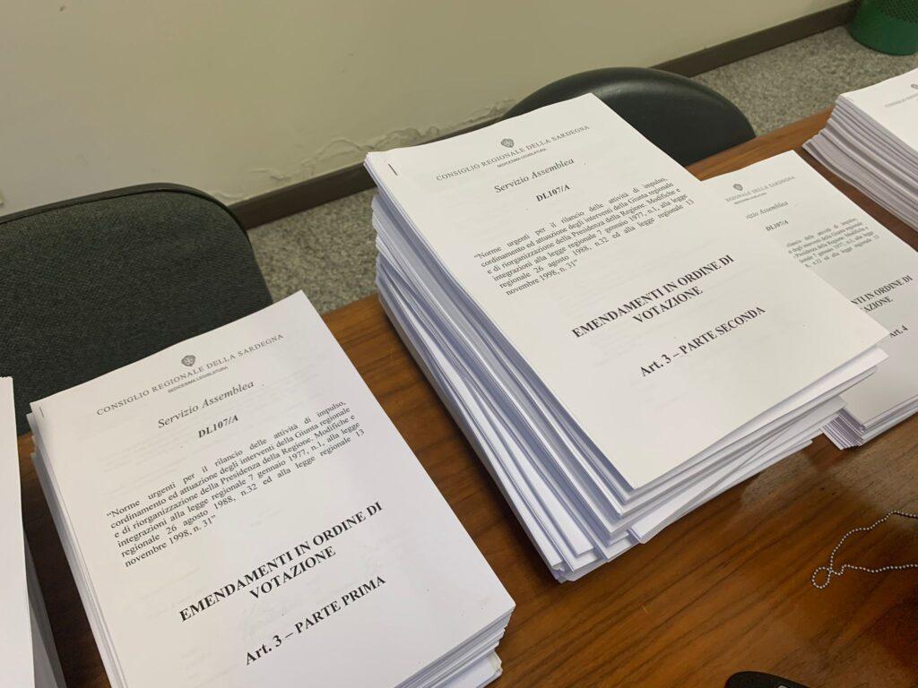 emendamenti al Dl 107